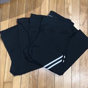 Gap Fit Bundle of 3 pairs of leggings size large